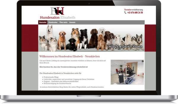 hundesalon-homepage-erstellten