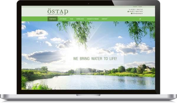 Oestap Homepage Erstellten