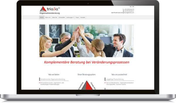 triada-homepage-erstellten